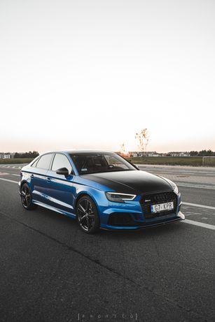 Wynajem Audi RS3 460 KM Sportowy wydech Gdansk Trojmiasto