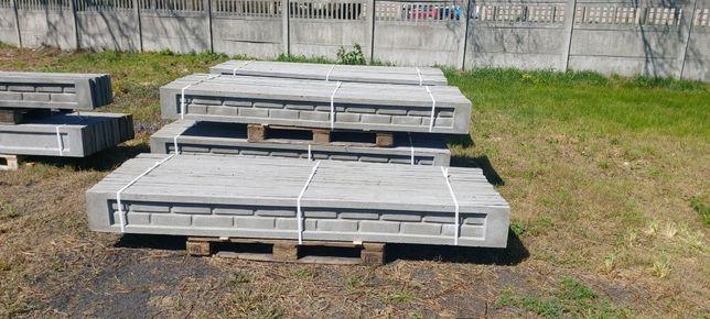 Podmurówka betonowa 246/25 245/25 h25 ogrodzenie panelowe