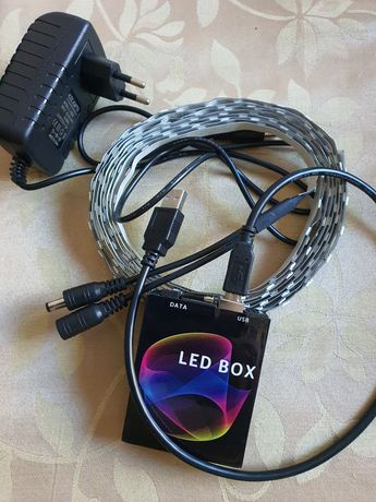Led box programável
