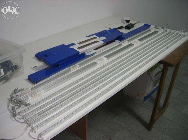 Led especifico 120cm  para aquario agua salgada novo