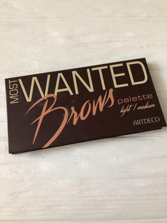 Тени для бровей ARTDECO Most Wanted BROWS Palette