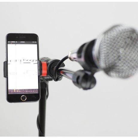 Statyw do mikrofonu Kaline MS100 3x uchwyt smarfon ipod