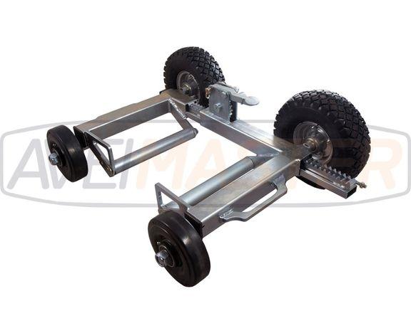 Carros de cremalheira com rodas mistas - Ref. 080044