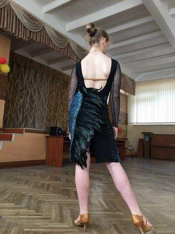 Платье для спортивно бальных танцев сукня Латина