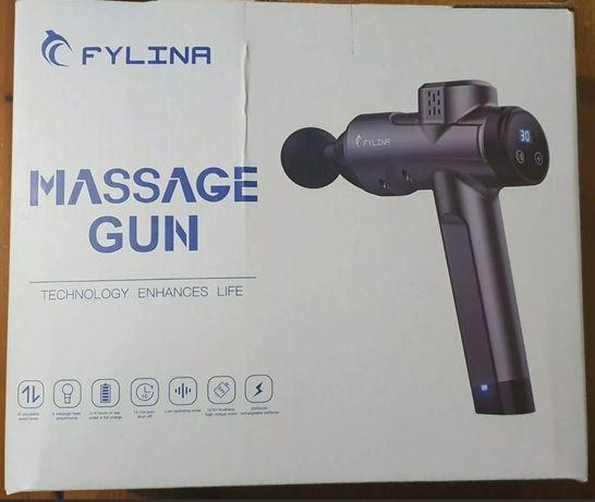 Pistola de Massagens com 30 velocidades e 8 cabeças