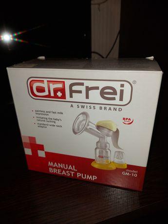 Механический, ручной молокоотсос Dr.Frei GM-10