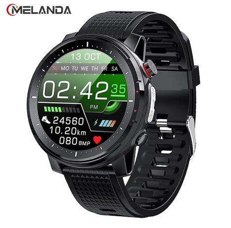Smartwatch, NOWY, IP68, kroki, pomiar tętna, powiadomienia itd