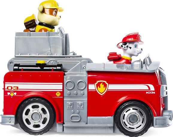 Psi Patrol Wóz Strażacki 2W1 Marshall 2 Straż NOWY