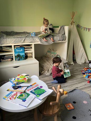 Детская двухуровневая / двухэтажная / двухьярусная кровать