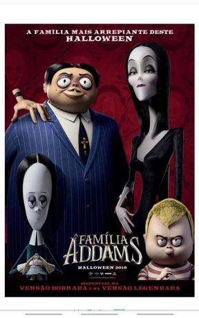 Bilhetes Familia Adams 2