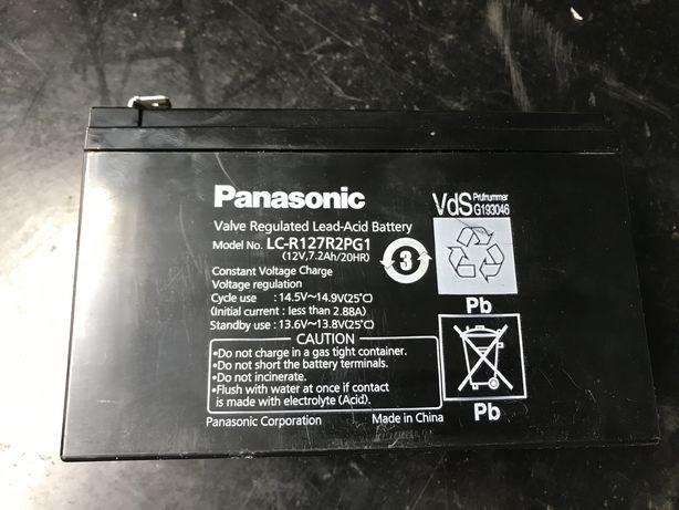Bateria 12V 7,2Ah Panasonic LC-R127R2PG1