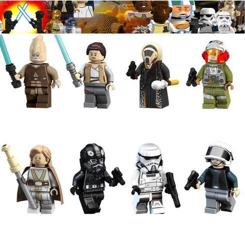 Bonecos minifiguras Star Wars nº50 (compativel com lego)