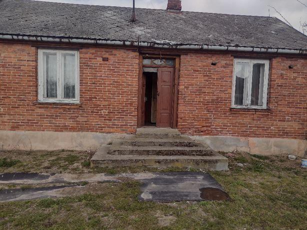Dom, stodoła murowana