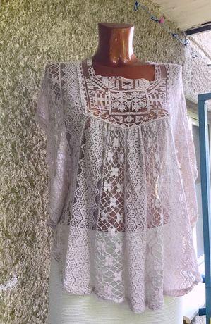Ажурная блуза от Zebra