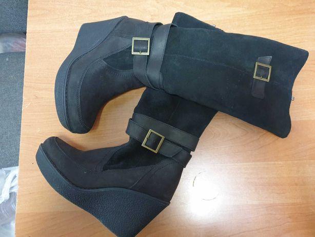 Czarne buty r. 38
