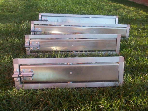 Karmidła obrotowe aluminiowe