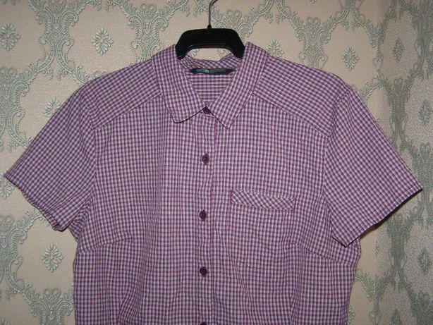 Жіноча женская сорочка рубашка з коротким рукавом The North Face
