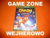 CRASH Bandicoot 4 Najwyższy Czas Xbox One + S + X = PŁYTA Wejherowo