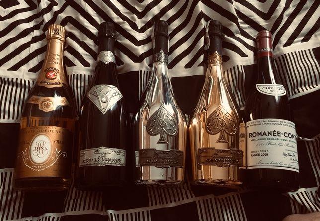 Butelki champagne