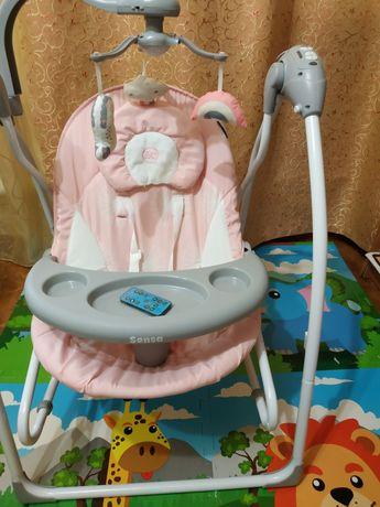 Укачивающий центр електрический, кресло для кормления с пультом