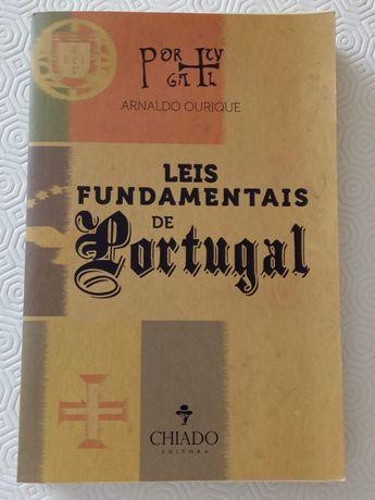 Livro - Leis Fundamentais de Portugal