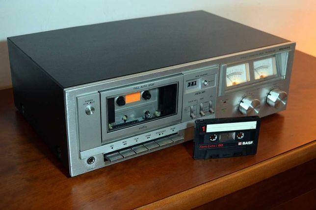 Deck Cassetes Sanyo Vintage 1981