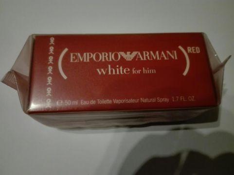 Giorgio Armani Emporio white red 50ml Unikat !!!