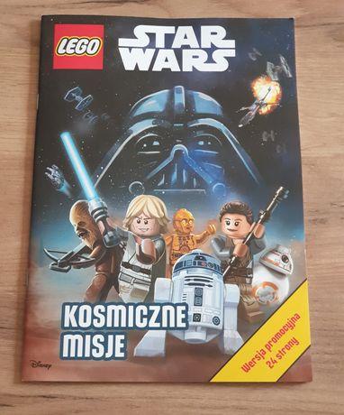 Książka książeczka Lego Star Wars Kosmiczne misje