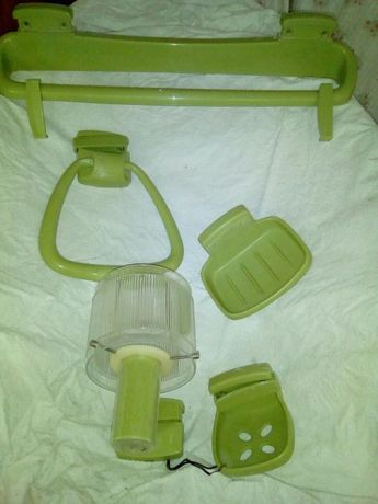 Conjunto de wc verde
