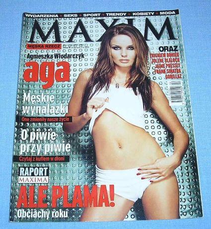Agnieszka Włodarczyk Maxim 2002