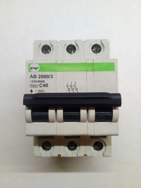 """Автомат """"трёхфазный"""" Промфактор PF 2000/3 C40"""