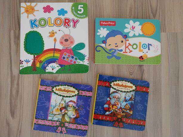 4 książeczki - kolory z puzzlami, Fisher Price, bajeczki