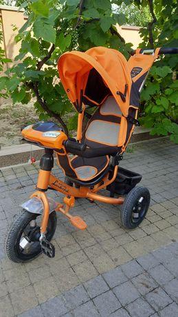 Велосипед трьохколісний з батьківською ручкою