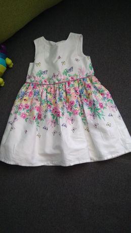 Śliczna sukieneczka 86 Primark 12-18