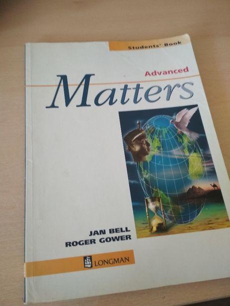Matters Advanced Student`s Book Longman