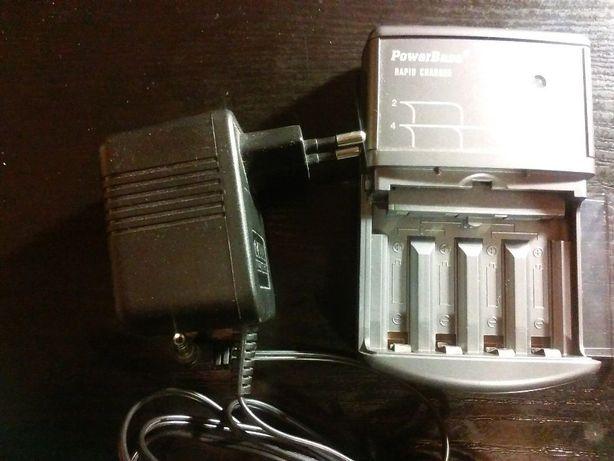 Ładowarka RAPID CHARGER do akumulatorków,PowerBase,na 2 lub 4,zasilacz
