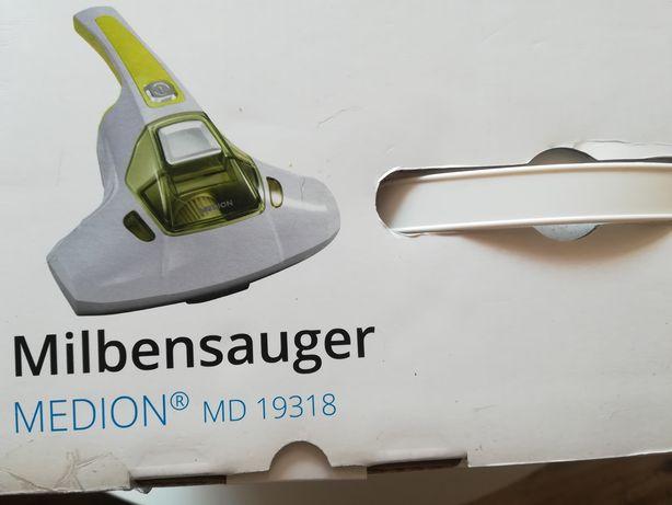 Odkurzacz ręczny Medion MD 19318 roztocza lampa UV
