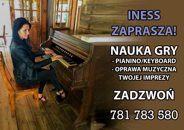 Nauka gry na pianinie/keyboardzie