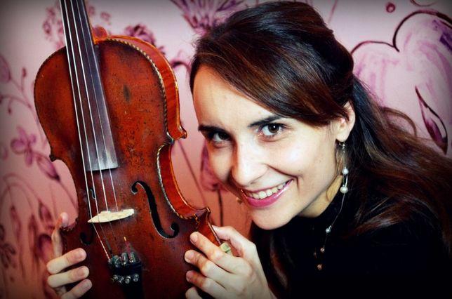 Skrzypaczka/wokalistka na ślub: skrzypce, wokal i organy w 1 osobie