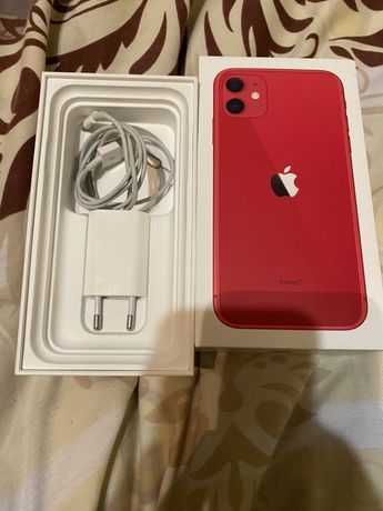iPhone 11 128g red.