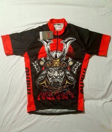 Koszulka kolarska na rower, rolki, strój kolarski rozm. M