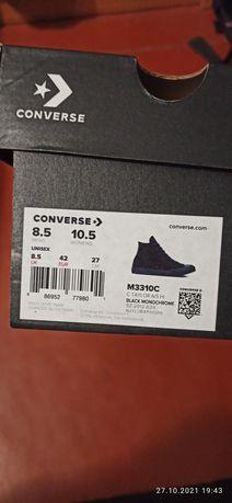 Converse all star high black monochrome(m3310)