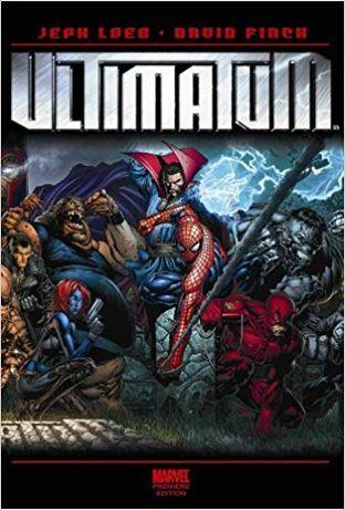 MARVEL Spider-Man Ultimatum&Ultimate (8 Livros HC 1as Ediç) BAIXAPREÇO