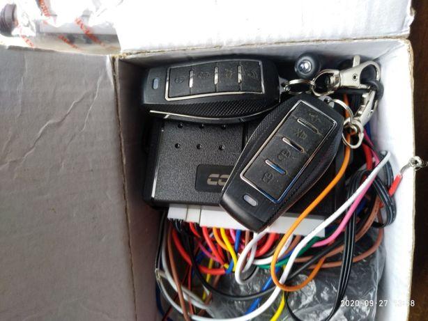 Комплект автосигнализация, сирена, привода центрального замка, сигнали