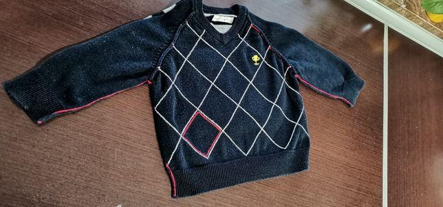Elegancki sweterek dla chłopczyka 9-12 m-cy!!!