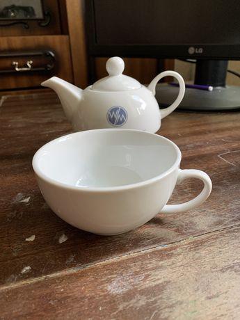 Чайник с чашкой набор