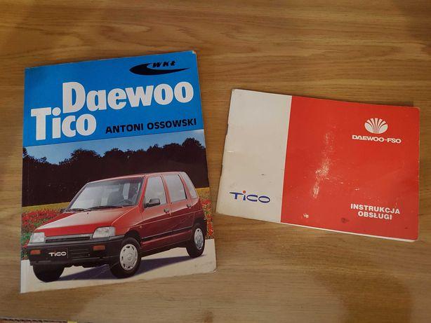 Książka Daewoo Tico instrukcja