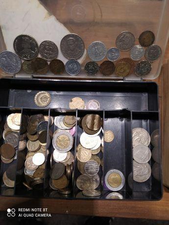Monety z różnych krajów
