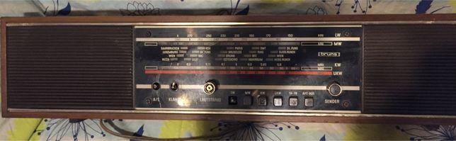 Radio antigo Bruns Prominent De Luxe 212 de 1973