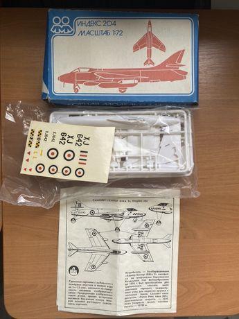 Сборная модель самолета 204/Ф199/Ф258/F231/Tomahawk-fighter/ПО2